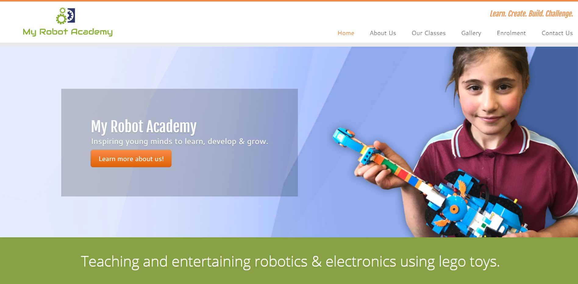 My Robot Academy